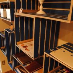 【HACO1】書架の代りにウッドボックスを。これだけで雰囲気が変わります。