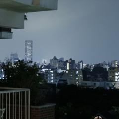 窓からの眺望です。