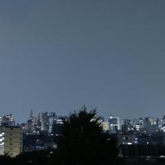 都心の夜景が綺麗に見えます。
