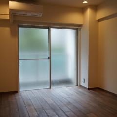 寝室もリビング同様に東側に面しており、明るい光が入ります。