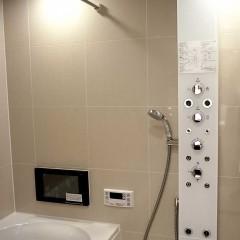 ヘッドシャワーで、浴室もリラックスできる場所になりました。