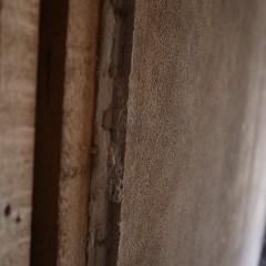 施工前。和室で土壁、年数もたっていた部屋。