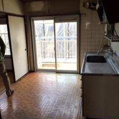 施工前①キッチン