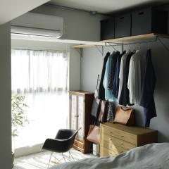ベッドスペースの横にはサンルームを設けた。